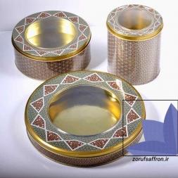 قیمت انواع ظروف خاتم زعفران
