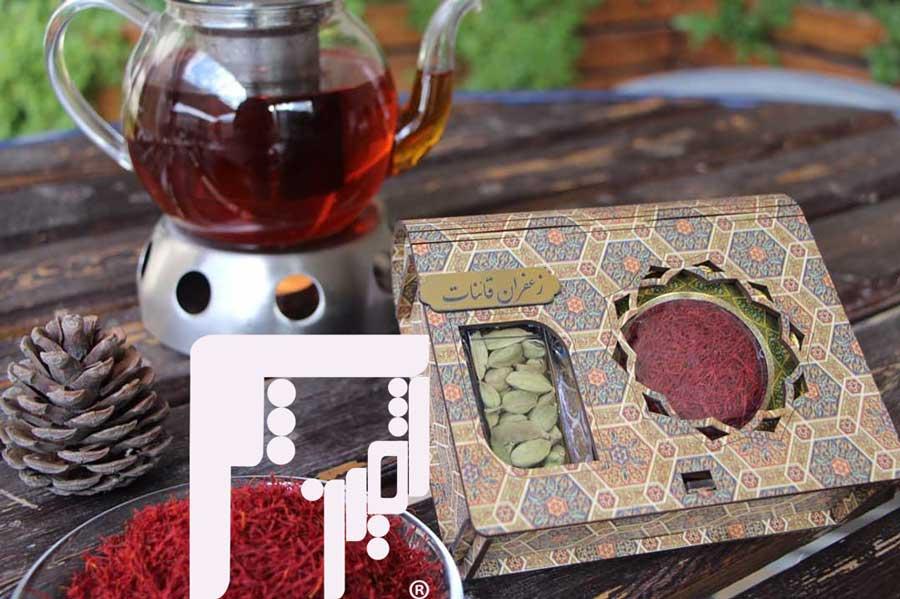 جعبه برای بسته بندی زعفران