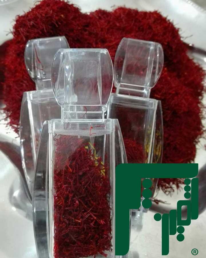 ظروف بسته بندی زعفران صادراتی