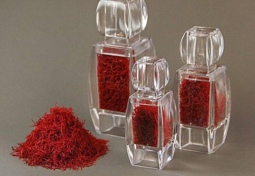 خرید ظرف کریستال زعفران